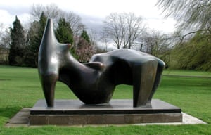 Reclining Figure 1969-70, Henry Moore