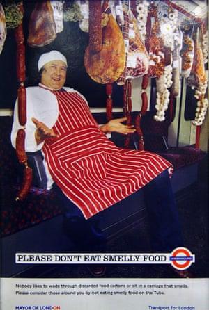 A London Underground advert