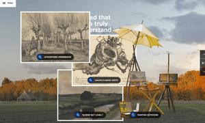 Van Gogh Museum website story