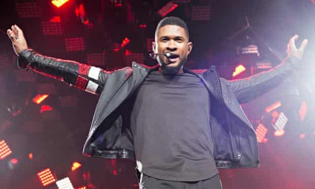 Usher dares fans to turn away from the lives of black people who died under suspicious circumstances in the US