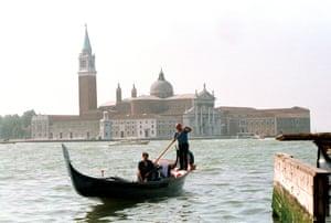 San Giorgio Island, with the church and monastery.