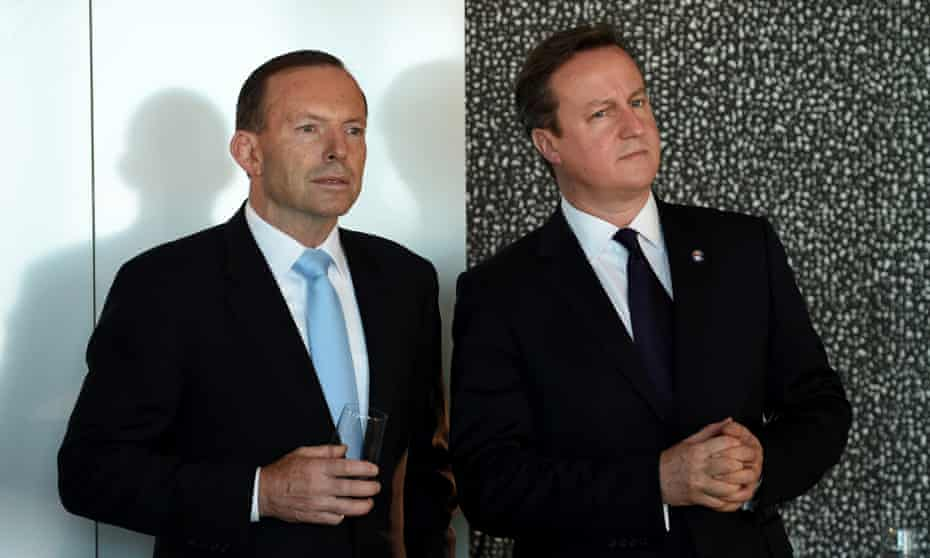tony abbott david cameron