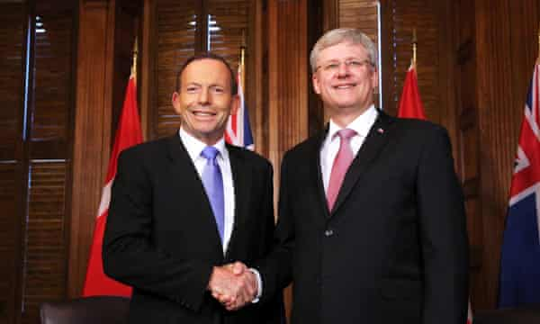 tony abbott stephen harper