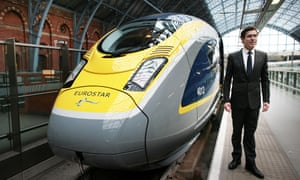 On the eve of its 20th anniversary, Nicolas Petrovic, chief executive of Eurostar unveils the new e320 train scheduled to enter commercial service at the end of 2015.
