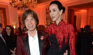 Mick Jagger and L'Wren Scott in 2013vflat