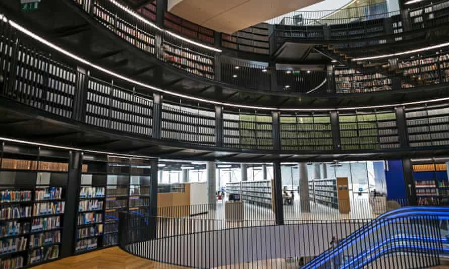 Roaring success … the new Birmingham library