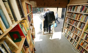 The Quaker Homeless Action mobile library which lends books to homeless people in London