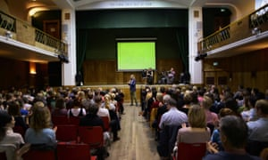 The Assembly at Conway Hall, London.