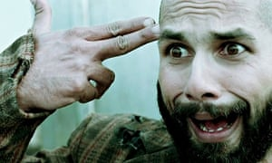 Shahid Kapoor in Haider, a modern-day adaptation of Hamlet set in Kashmir