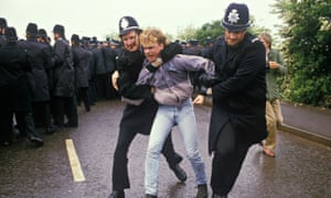 The miners' strike at Orgreave in 1984