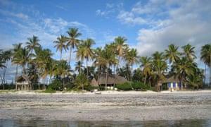 Upepo Boutique Beach Bungalows in Zanzibar.
