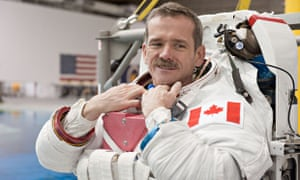 Chris Hadfield became famous for his antics aboard the International Space Station.