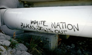 Racist grafitti … is bigotry simply being forced underground rather than eliminated?