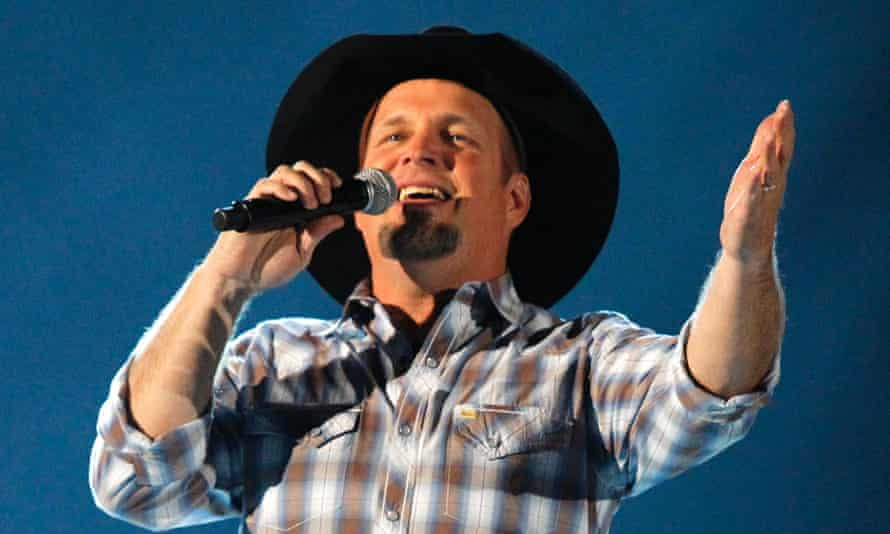 Garth Brooks performs in Las Vegas.