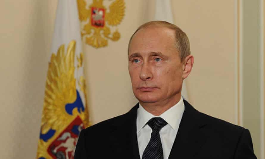 Vladimir Putin Gives A Statement On MH17