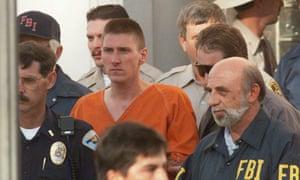 Oklahoma City bomber Timothy McVeigh