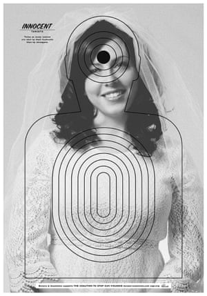 Twice as many women are shot by their husbands than by strangers.