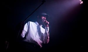 Dean Blunt Performs At Electrowerkz In London.