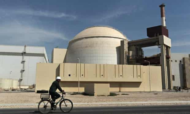 Bushehr nuclear plant. If the talks fail, Iran will face 'a perfect storm of sanctions, lower oil pr