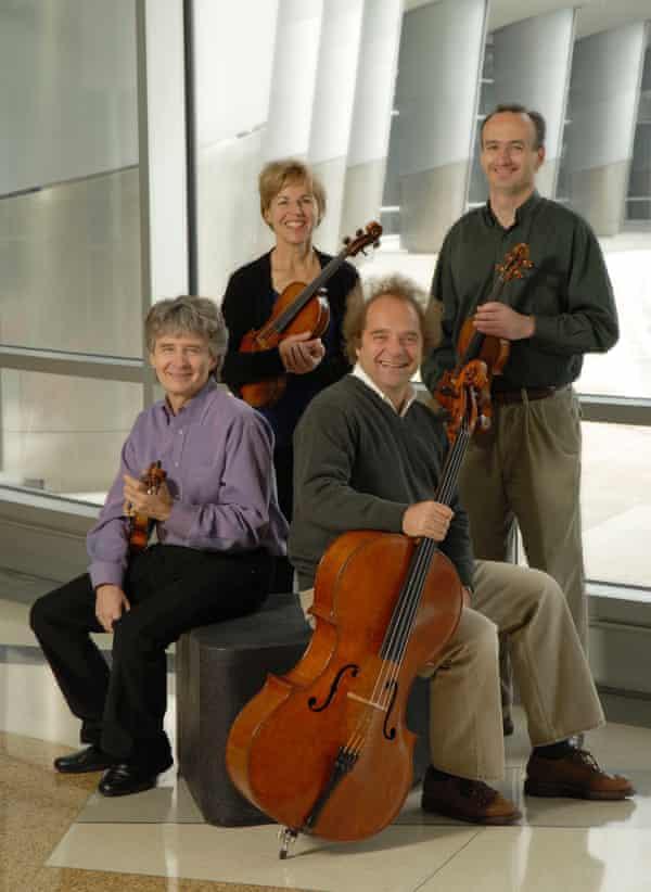 The Takács Quartet.