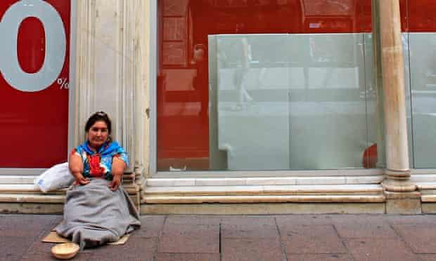Thalidomide victim in Seville