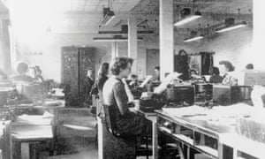 Codebreakers at Bletchley Park, c1942.