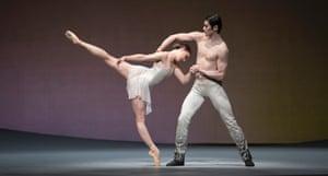 'Memorably beautiful': Claire Calvert with Ryoichi Hirano in Aeternum.