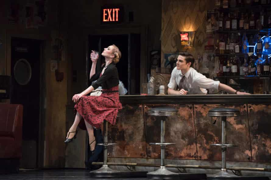 Sarah Lamb and David Donnelly in Royal Ballet's 'period-perfect' The Age of Anxiety.