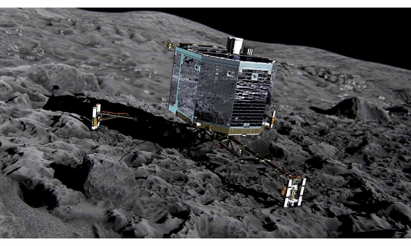 Philae: 'I'm feeling a bit tired, did you get my data? I might take a nap'