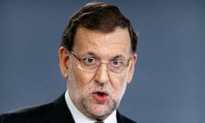 Mariano Rajoy: under pressure
