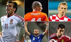 Euro 2016 qualifiers Clockwatch comopsite