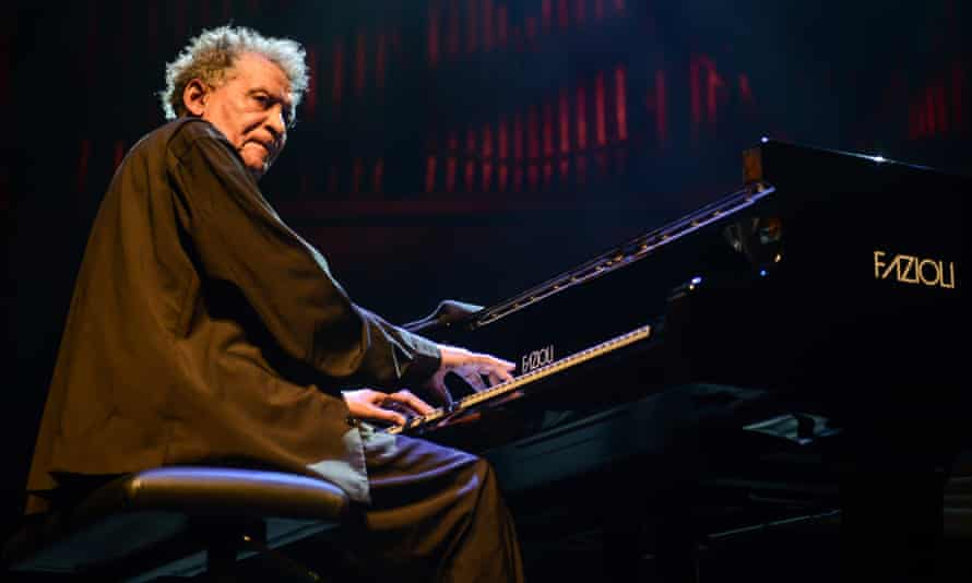 South African pianist Abdullah Ibrahim