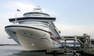 crown princess cruise ship