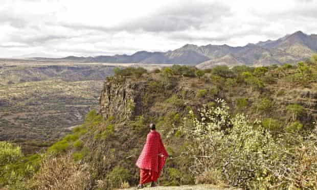 Maasai elder in tanzania