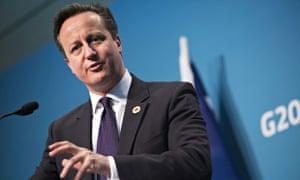 Britain's Prime Minister David Cameron s