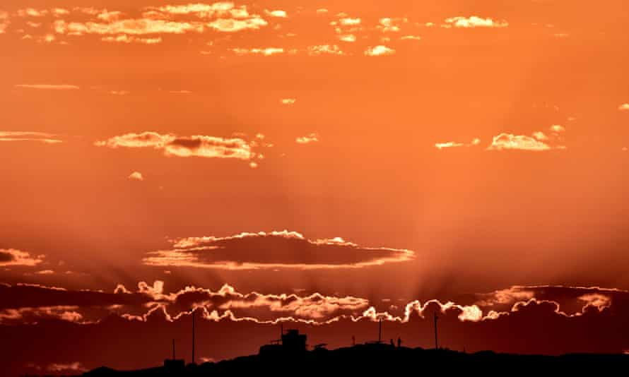 kobani sunset