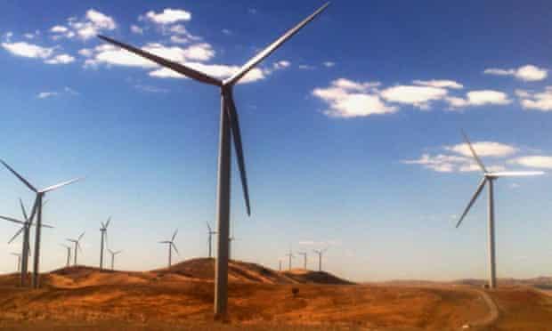 windfarm South Australia