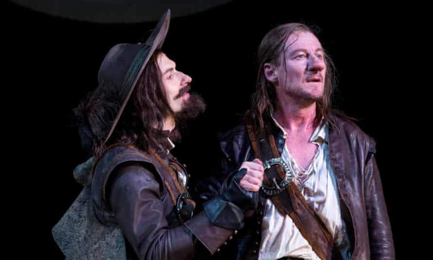 Yalin Ozucelik and Richard Roxburgh in Cyrano de Bergerac at Sydney Theatre Company