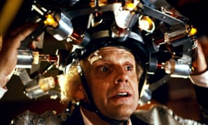 02ebdbebf Dr Emmett Brown: the ultimate role model for the scientific community.  Photograph: Sportsphoto Ltd/Allstar
