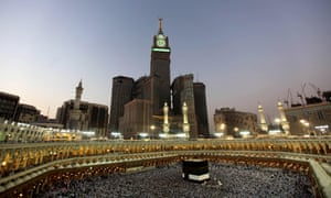Now the 'unfeasibly silly' Royal Makkah Clock Tower looms over the Ka'bah.