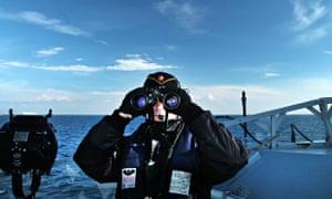 Finnish Navy soldier