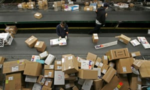 Fedex and UPS packages and shipping