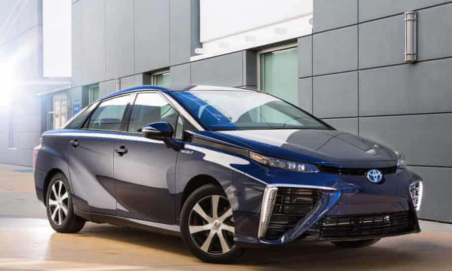 The Toyota Fuel Cell Vehicle (FCV) called 'Mirai' will go on sale in Japan in December