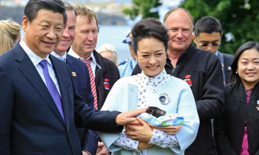 Xi Jinping in Tasmania