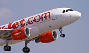 An easyJet Airbus A319 taking off