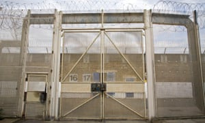 Wandsworth prison gates