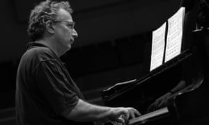 Pianist Uri Caine performing at the Torino Jazz Festival, April 2014.