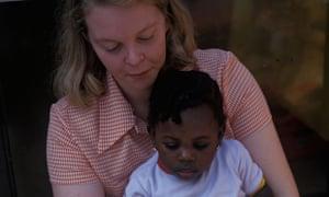 white foster carers black children