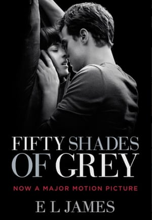 The new cover of Fifty Shades of Grey