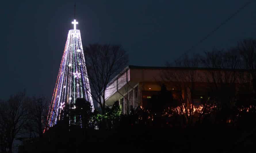 christmas tree north korea